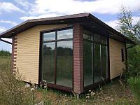 Одноэтажные дачные дома, быстровозводимые дачные коттеджи