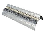 Карниз алюминиевый БР-12 с косой, античное серебро
