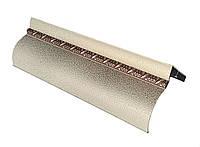 Карниз алюминиевый БР-12 с косой, античное золото