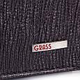 Стильне чоловіче шкіряне портмоне GRASS SHI327-32, фото 5