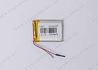 Аккумуляторная батарея для планшета Li-Polymer 3.7V, 1000mAh, 42*32*6мм