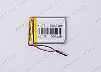 Аккумуляторная батарея для планшета Li-Polymer 3.7V, 500mAh, 40*30*5мм
