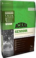 Acana SENIOR (АКАНА Сеньор) Heritage Formula-корм для собак всех пород от 7 лет (цыпленок/рыба), 11.4кг