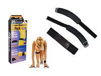 Магнитный массажер Power Magnetic Sport 3406 для коленей и запястий, мягкий материал, 56*4 см, 26,5*5 см