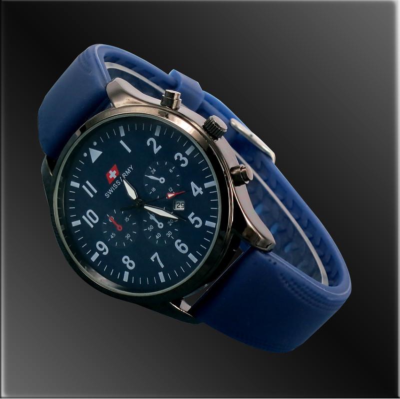 Годинники чоловічі Swiss Army STORM blue (синій)