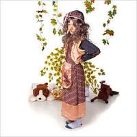 Шикарный детский карнавальный костюм Баба Яга,  FS, фото 1