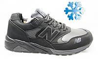 Зимние мужские кроссовки адидас (New BAlance WINTER Black)