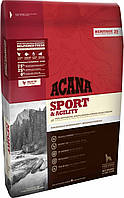 Acana SPORT & AGILITY Heritage Formula (АКАНА Спорт энд Аджилити) - корм для взрослых активных собак, 17кг