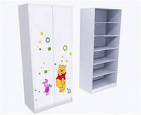 Шкаф для белья с фотопечаттю