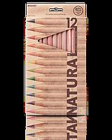 """Карандаши цветные """"MARCO"""" Natural Jumbo (12 цветов)  6400-12CB"""