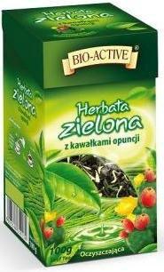 Чай зеленый Big active Herbata zielona z owocem Pigwy (зеленый, ананас, кактус, лепестки розы ) 120 г. Польша