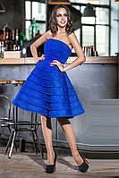 Корсетное вечернее платье Paradis 42–48р. в расцветках