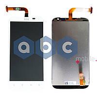 Дисплей (модуль) HTC SENSATION  XL x315e белый