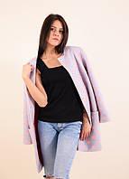 Качественное пальто демисезонное модного фасона