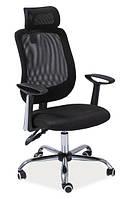 Q-118 текстильный офисный стул SIGNAL