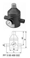 Клапан понижения давления тип V 182, PVC-UС патрубками для клеевого соединения