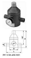 Клапан понижения давления тип V 82, PVC-UС патрубками для клеевого соединения