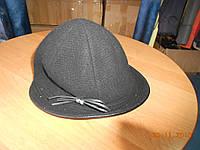 Шерстяная шляпка с узкими полями