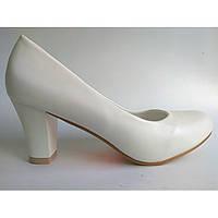 Свадебные туфли Т-5072 УЦЕНКА! ПОСЛЕДНИЙ размер - 36