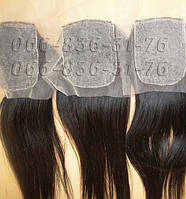 Мужская накладка из натуральных русских волос., фото 1
