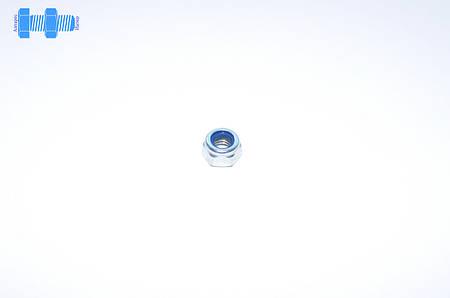 Гайка самоконтрящаяся М3 DIN 985 нержавеющая с нейлоновым кольцом
