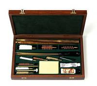 Набор комбинированный для чистки гладкоствольного, нарезного оружия и пистолета в  подарочном кейсе