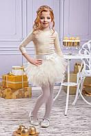 Комплект  с юбкой пачкой для девочки Зіронька Gold, фото 1