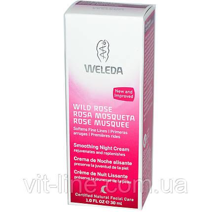 Weleda, Дикая роза, смягчающий ночной крем (30 мл), фото 2