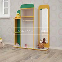 Игровая мебель для детского сада «Раздевалка»