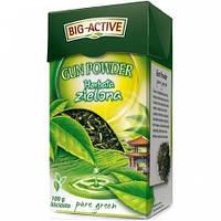 Чай зеленый Big active Herbata zielona (Биг актив зеленый) 120 г. Польша