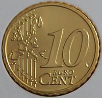 Монета Австрии. 10 евро цента 2007 г.