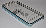 Чехол-бампер Flower Blue для Apple iPhone 5/5s, фото 2
