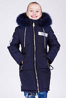 Зимнее пальто  для девочки.Мода.