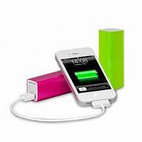 Портативное зарядное устройство Power Bank 2600mAh