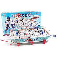 Детский настольный хоккей Евро-лига на штангах 0711