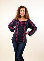 Женская блуза вышиванка выполнена в современном стиле