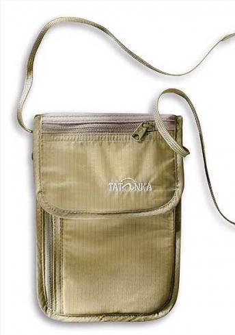 Кошелек Skin Neck Pouch RFID B Tatonka TAT 2959.225, светло-бежевый