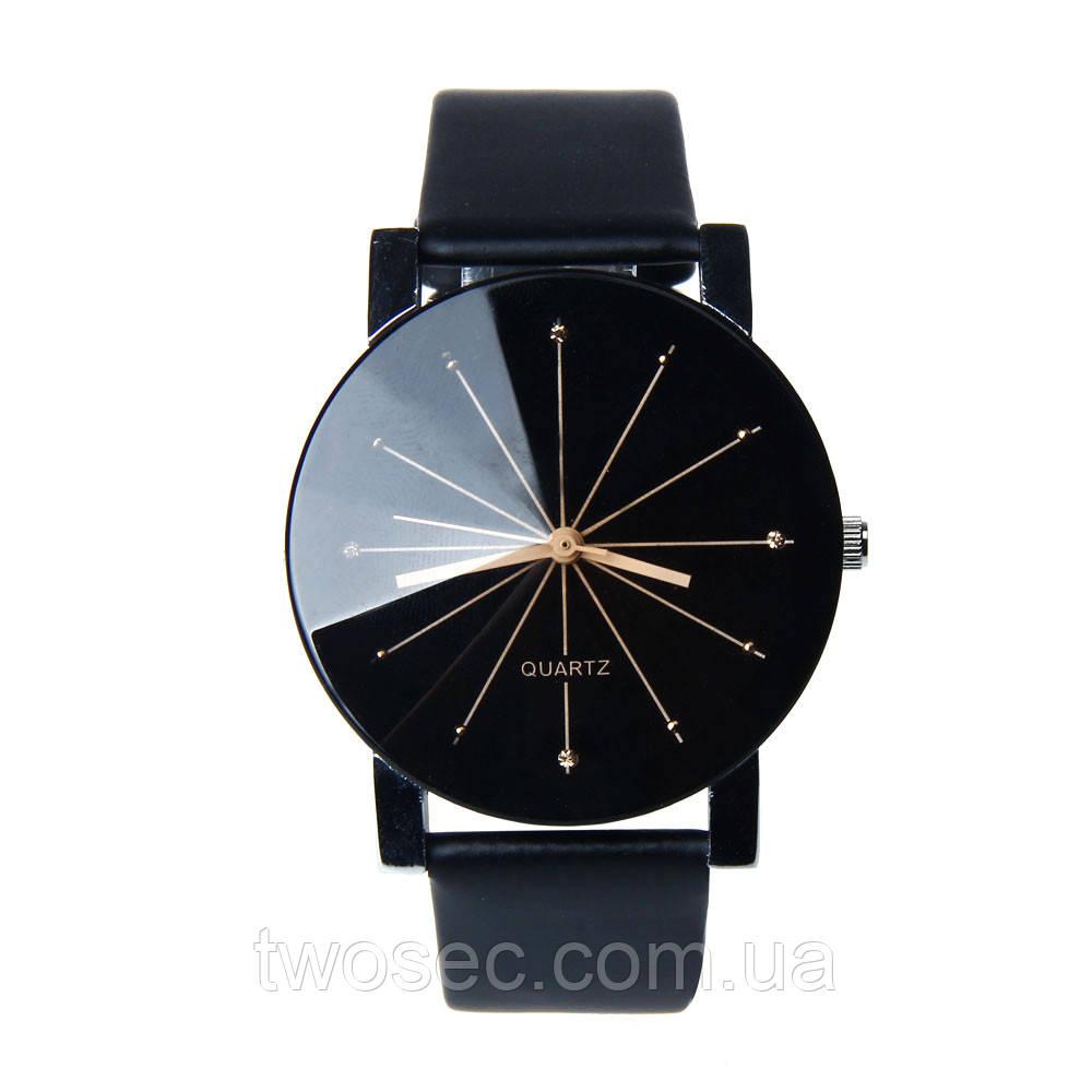 Женские наручные часы кварцевые Sanwony черные, черный цвет, черного цвета