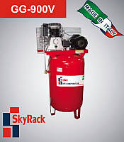 GG-900V Компрессор поршневой ременной c вертикальным ресивером (380В, ресивер 270 л)