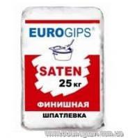 Шпаклевка гипсовая финишная EUROGIPS SATEN 25 кг
