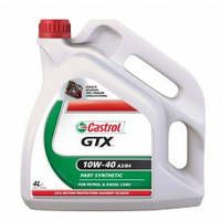 Полусинтетическое масло CASTROL GTX 10 W-40 A3/B4 1 L