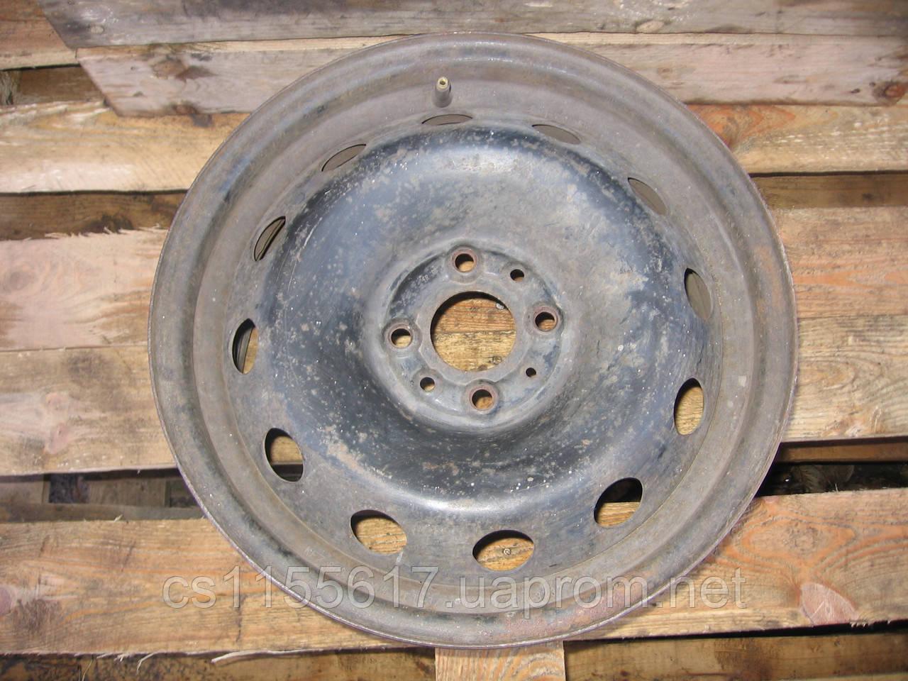 Стальной колесный диск KFZ 8085 (6.5Jx15, 4x98, ET43, 58) б/у на Fiat: Doblo, Brava, Stilo, Linea год 1986-90