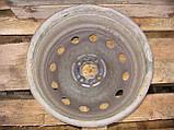 Стальной колесный диск KFZ 8085 (6.5Jx15, 4x98, ET43, 58) б/у на Fiat: Doblo, Brava, Stilo, Linea год 1986-90, фото 4