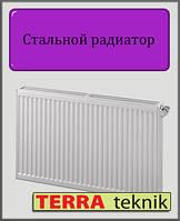 Стальной радиатор 11 тип 500х400 TERRA teknik (боковое подключение)