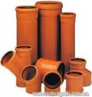 Наружная канализация Valplast труба ПВХ 110*3000*2,7mm