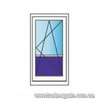Двери металлопластиковые балконные REHAU euro 70 800х2100 Однокамерные