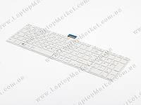 Оригинальная клавиатура TOSHIBA Satellite L850, L855, L870, P870, C850, C855, C870, White, RU, с рамкой