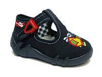 Тапочки (туфельки) для мальчика Renbut темно-синие