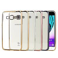 Чехол силиконовый прозрачный на Samsung J105 Galaxy J1 Mini