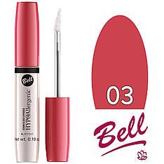 Bell HypoAllergenic - Блеск-краска для губ Lip Tint (гипоал.) Тон №03 pink red глянцевый